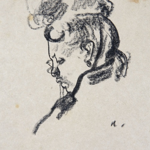 Isidre Nonell - Female bust - 1902