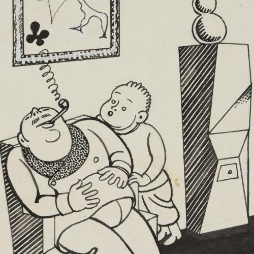 Feliu Elias - New Year's Day - 1932