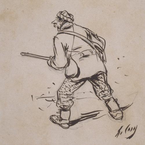 Ramon Casas - Lo bon cassador, 2 (El buen cazador, 2) - 1892