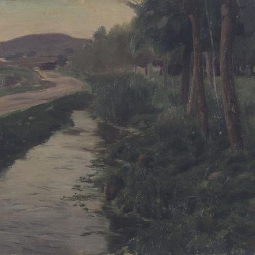 Enric Galwey - Les vores d'un canal - 1912