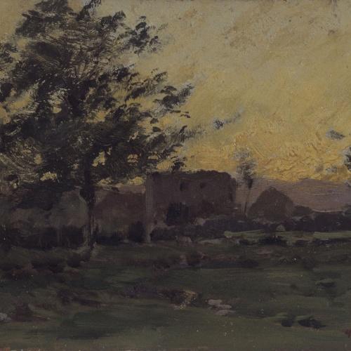 Enric Galwey - Crepuscle - 1886