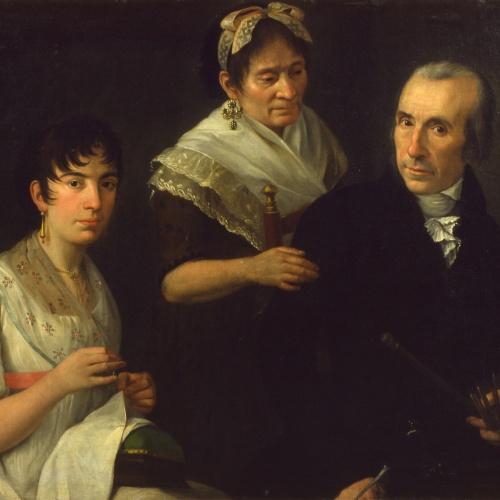 Francesc Lacoma Sans - La família del pintor - Cap a 1800-1810