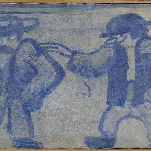 Xavier Nogués - Fragment de la decoració mural del celler de les Galeries Laietanes - 1915 [2]
