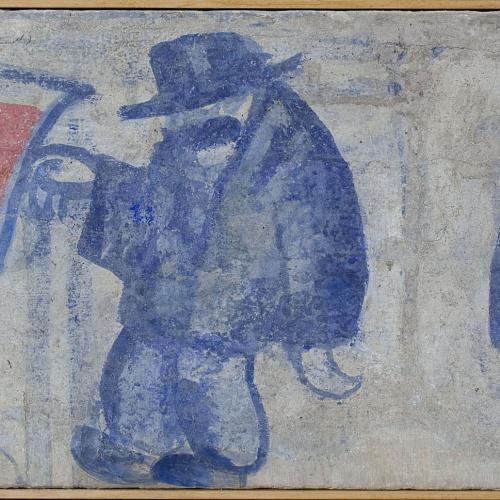 Xavier Nogués - Fragment de la decoració mural del celler de les Galeries Laietanes - 1915 [1]