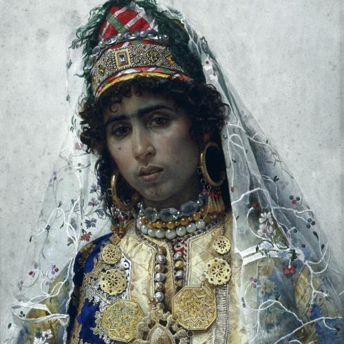 Josep Tapiró - Núvia berber - Cap a 1896