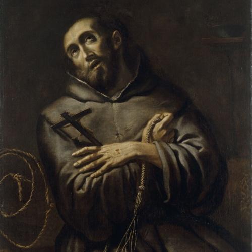 Anònim. Itàlia. Llombardia - Sant Francesc d'Assís en èxtasi - Entre 1615-1635