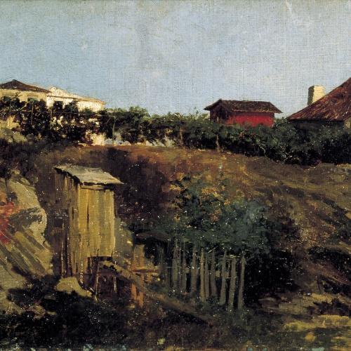 Marià Fortuny - Paisatge de Portici - 1874