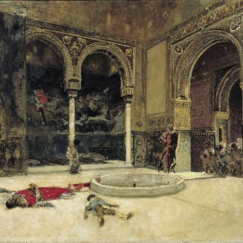 Marià Fortuny - La matança dels Abenserraigs - Granada, cap a 1870