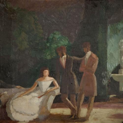 Xavier Nogués - Els romàntics - Cap a 1928-1929