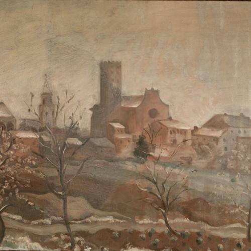 Josep Aragay - Overcast Day - 1932