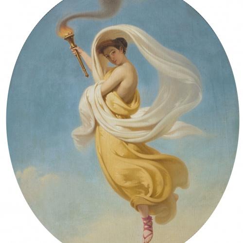 Claudi Lorenzale - Allegory of Summer - Circa 1847