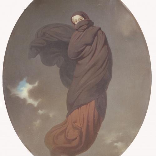 Claudi Lorenzale - Allegory of Winter - Circa 1847