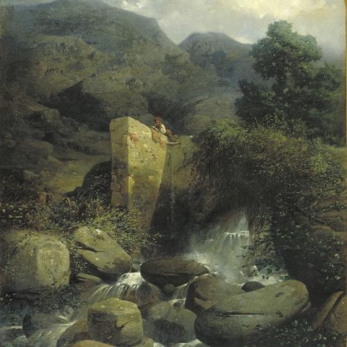 Josep Armet - Un país. Record dels Pirineus - 1866