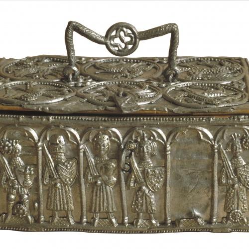 Anònim. Xipre - Capseta amb guerrers - Cap a 1250-1280