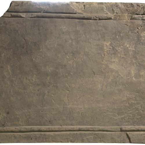 Anònim - Ara d'altar de Planès - Primera meitat del segle XI