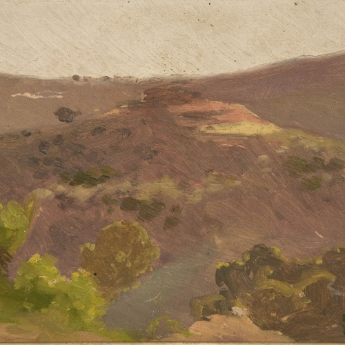 Antoni Serra - Paisatge - 1908