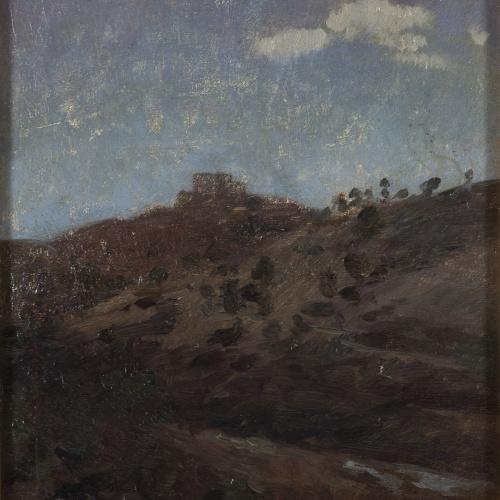 Alexandre de Riquer - Eclipsi de sol - 1905