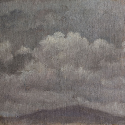 Apel·les Mestres - Estudi de núvols - 1874