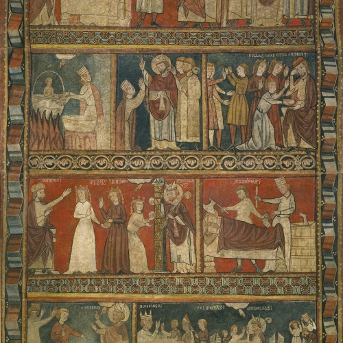 Segon Mestre de Bierge - Vida de sant Nicolau - Finals del segle XIII