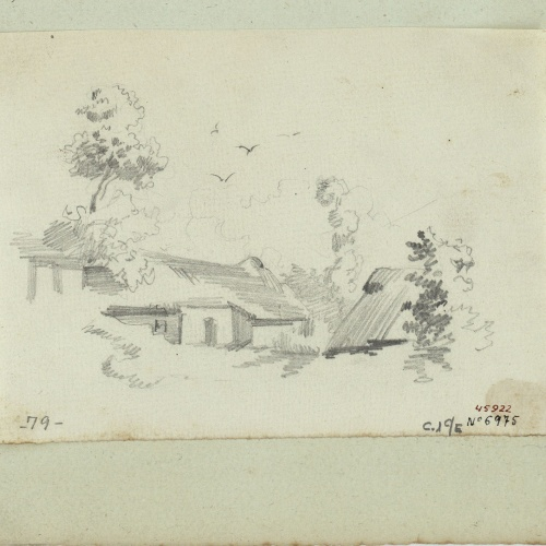 Marià Fortuny - Rural landscape - Circa 1853-1856