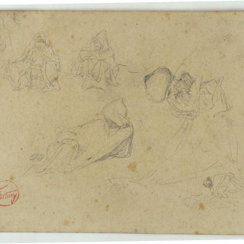 Marià Fortuny - Marroquins - Cap a 1860-1862