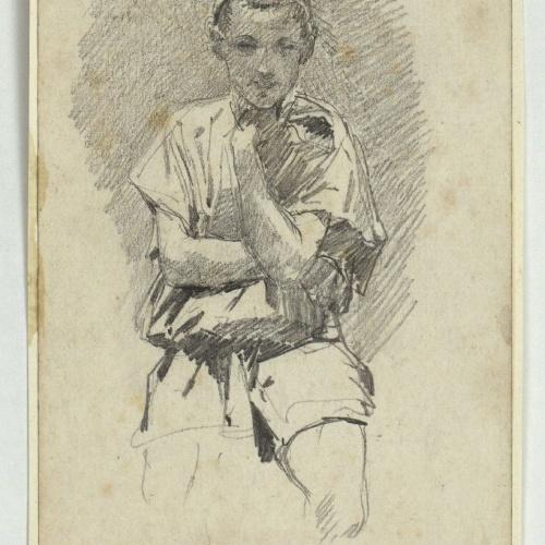 Marià Fortuny - Jove marroquí - Cap a 1860-1862