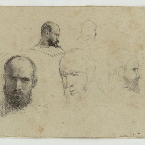 Marià Fortuny - Caps de marroquins - Cap a 1860-1862