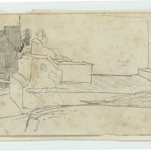 Marià Fortuny - Marroquí ajagut - Cap a 1860-1862