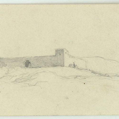 Marià Fortuny - Fort marroquí - Cap a 1860-1862