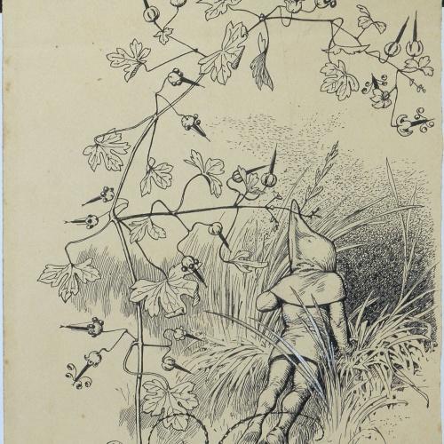 Apel·les Mestres - Return of Flok. Illustration for Apel·les Mestres's poem 'Liliana' - Circa 1907