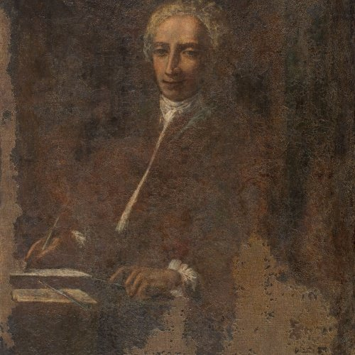 Antoni Viladomat - Autoretrat - Cap a 1750