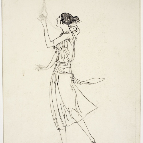 Ismael Smith - Girl with a parfum bottle - [no-dating]