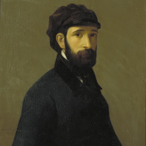 Claudi Lorenzale - Autoretrat - 1843