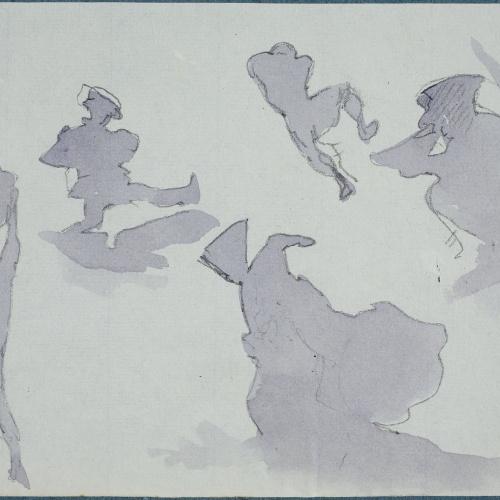 Apel·les Mestres - Sunset - 1880