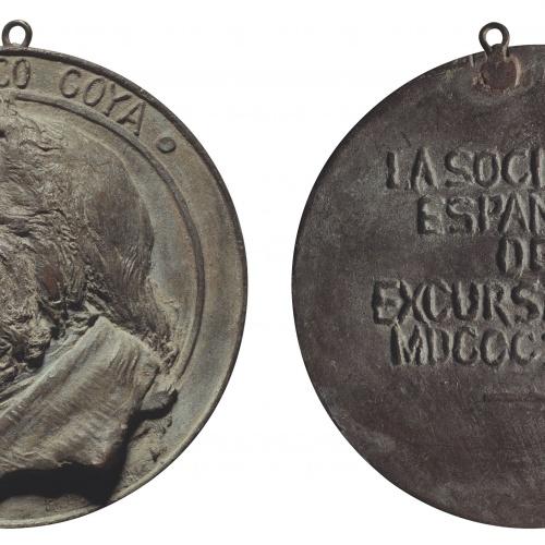 Antoni Parera - A Francisco de Goya - 1896