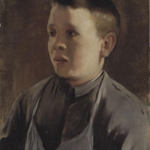 Santiago Rusiñol - Retrat de nen - Cap a 1893-1895