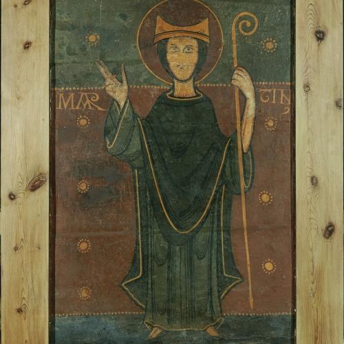 Anònim - Lateral d'altar de Tavèrnoles - Segona meitat del segle XII