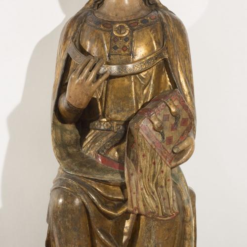 Grup de Sant Bertran de Comenge - Santa - Cap a 1300