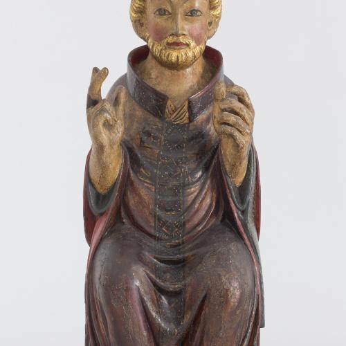 Grup de Sant Bertran de Comenge - Sant bisbe - Cap a 1300