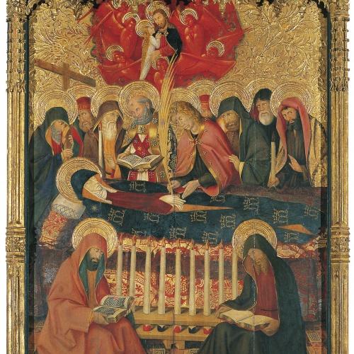 Pere Garcia de Benavarri - Dormició de la Mare de Déu - Cap a 1450-1455
