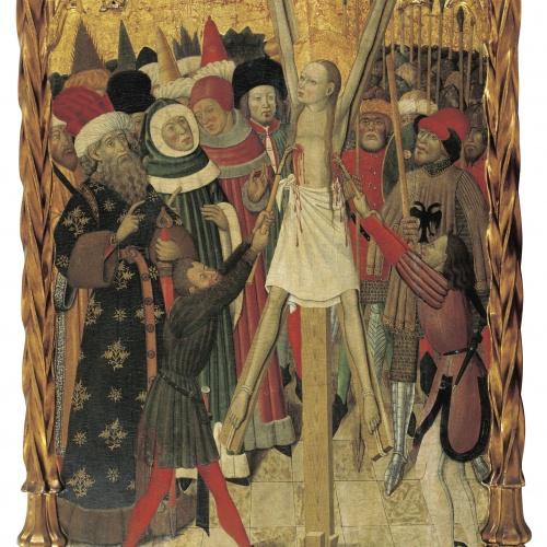 Bernat Martorell - Martiri de santa Eulàlia - Cap a 1442-1445