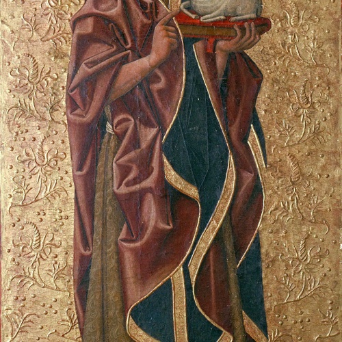 Juan de la Abadía (el Vell) - Saint John the Baptist - Last quarter of the 15th century