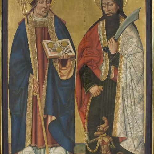 Anònim. Aragó - Sant Nicolau i sant Bartomeu - Últim quart del segle XV