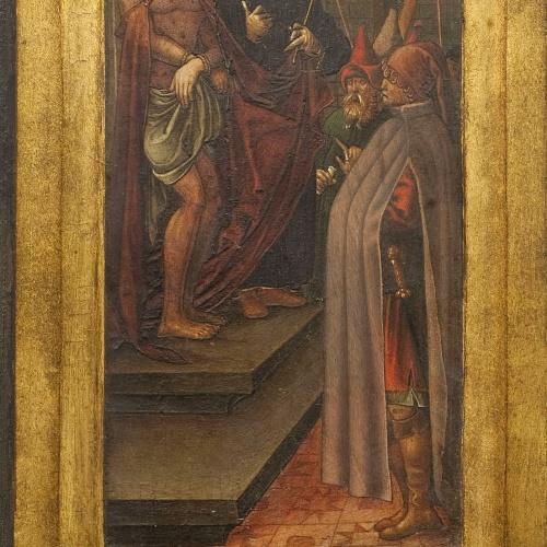 Anònim. Aragó - Ecce Homo i sant Pere - Entre 1510-1550