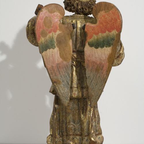 Anònim. Itàlia. Nàpols - Musician Angel - First quarter of the 17th century [1]