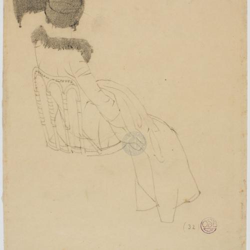 Francesc Xavier Gosé - Lady seated - Circa 1910-1913