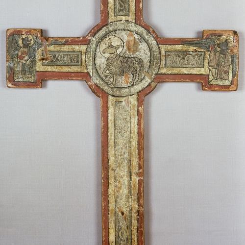 Anònim - Creu d'altar - Segona meitat del segle XIII