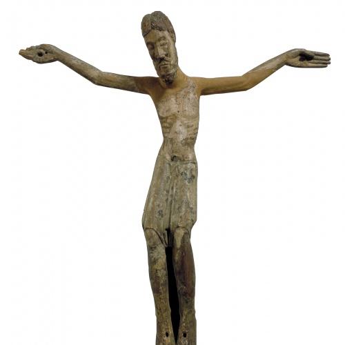 Anònim - Crist d'Escaló - Segona meitat del segle XII