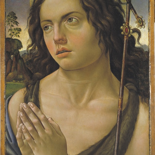 Raffaellino del Garbo - Sant Joan Baptista - Cap a 1505