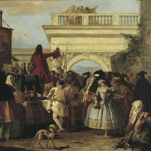 Giandomenico Tiepolo - El xarlatà - 1756